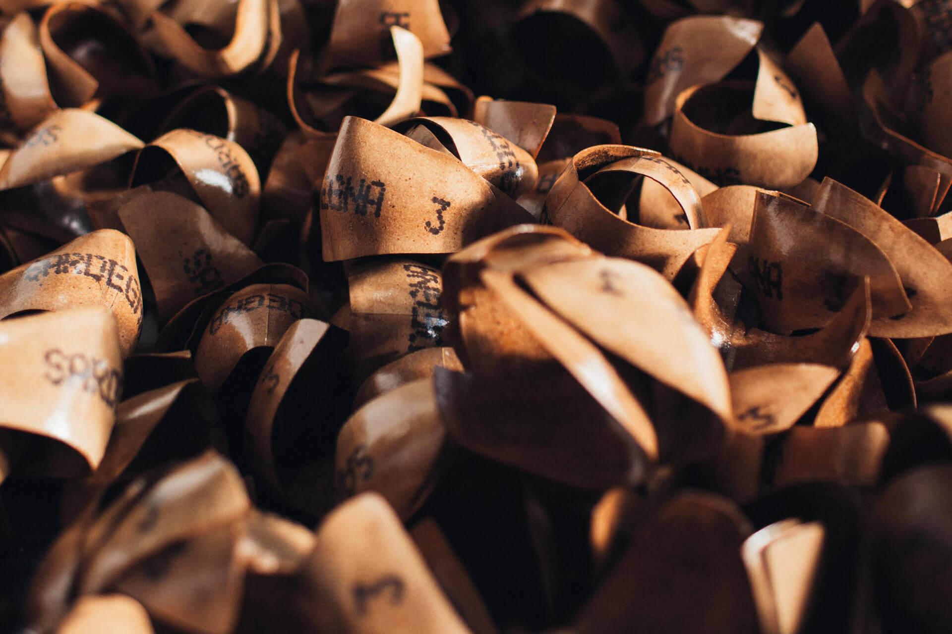 Puntali e contrafforti per calzature