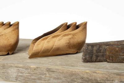Contrafforti scarpe fatti a mano linea luxury