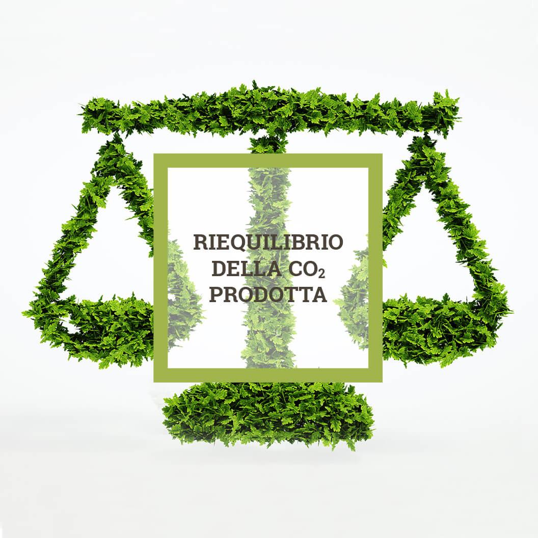 Riequilibrio della CO2